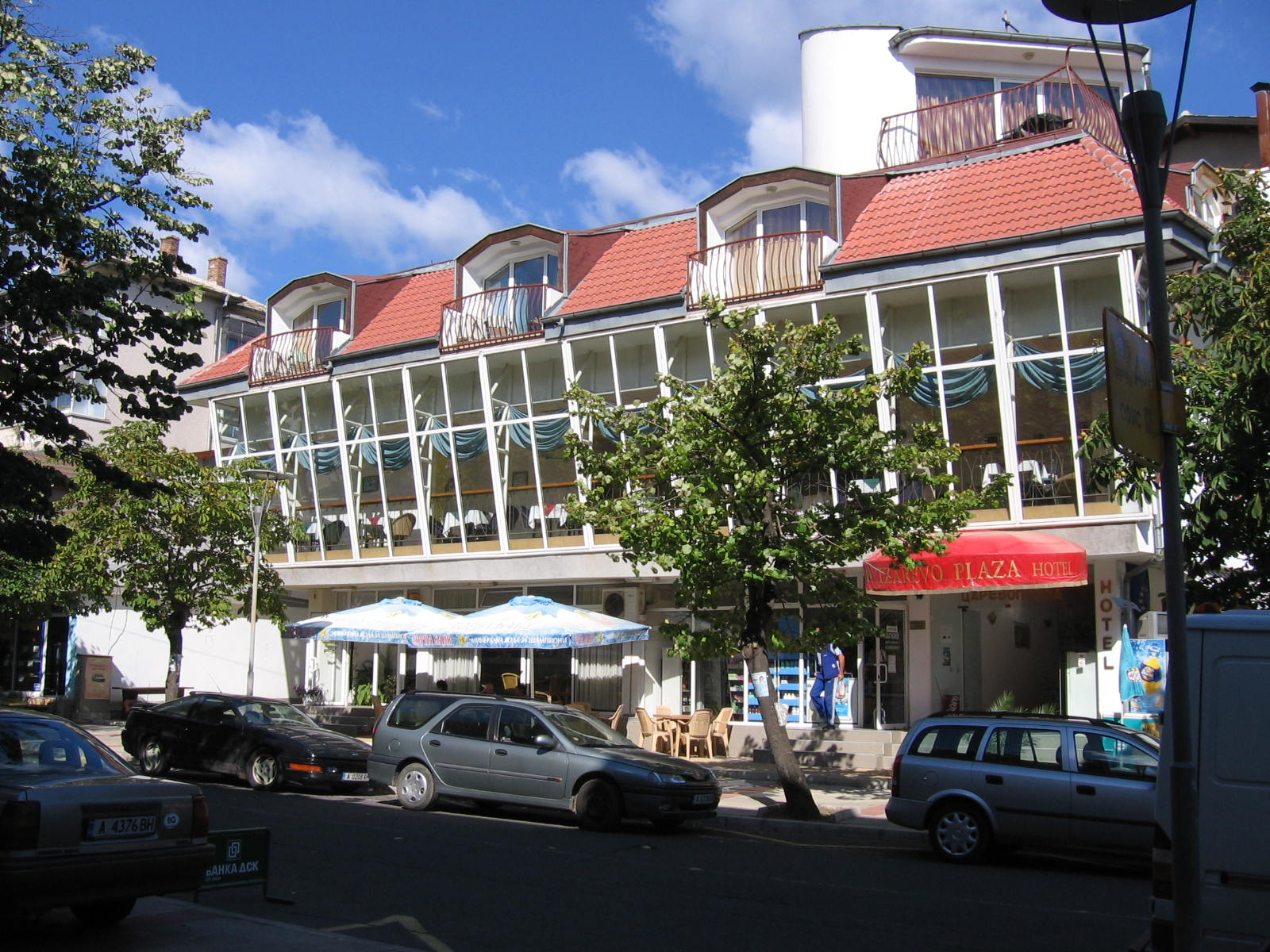 Hotel Tzarevo Plaza in centre of town (Photo: pernica.biz)