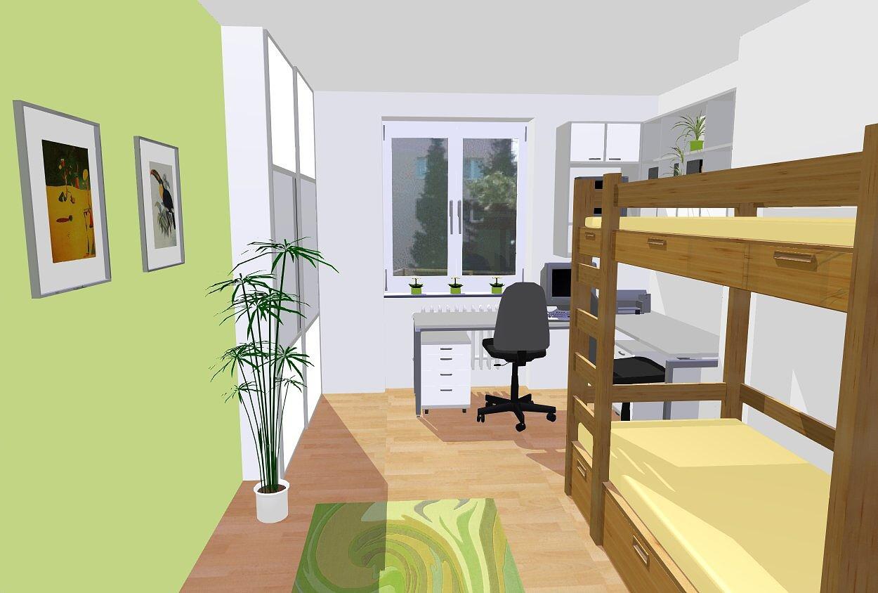 ATELIÉR iN - Dětský pokoj - 1b | Nursery (Baby) room - 1b