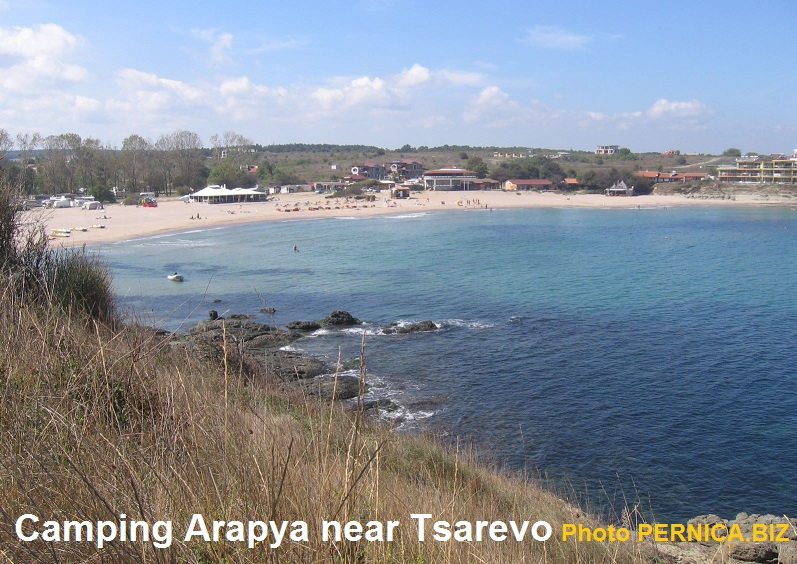 Camping Arapya near Tsarevo - View from Webcam Live.