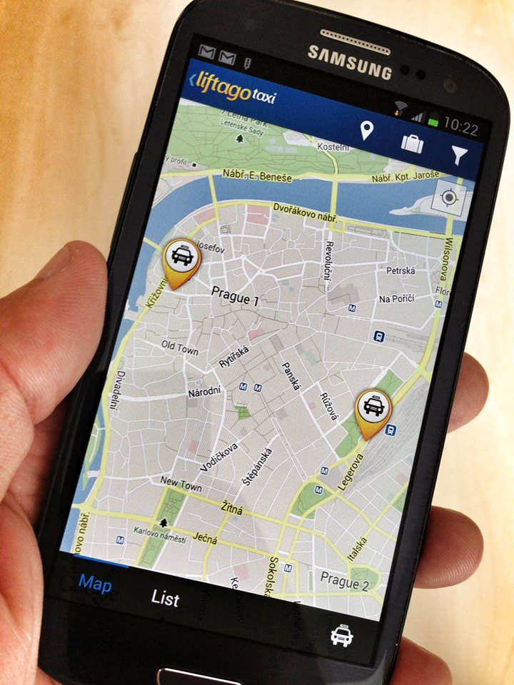 Liftago Taxi - Your Taxi Profit. Join now and earn money!