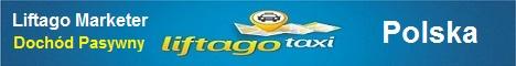 Liftago marketer - Zarób na rynku taksówkowym. Udostępniając serwis Liftago.