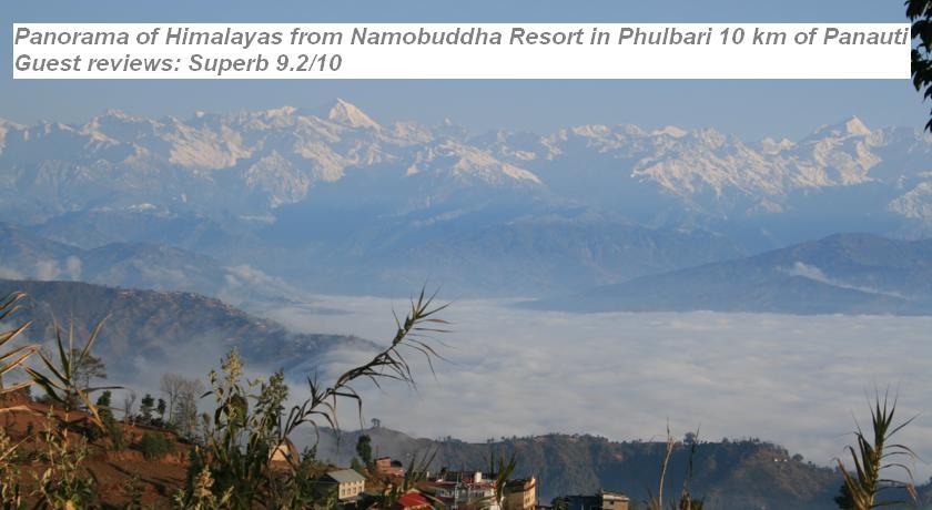 Nepalese Book - Online hotels reservation in Phulbari 1 Kavre, 46000 Dhulikhel, Nepal - Namobuddha Resort