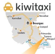 Burgas – Carevo (mapka) – více informací o Carevu najdete na webu PERNICA.BIZ