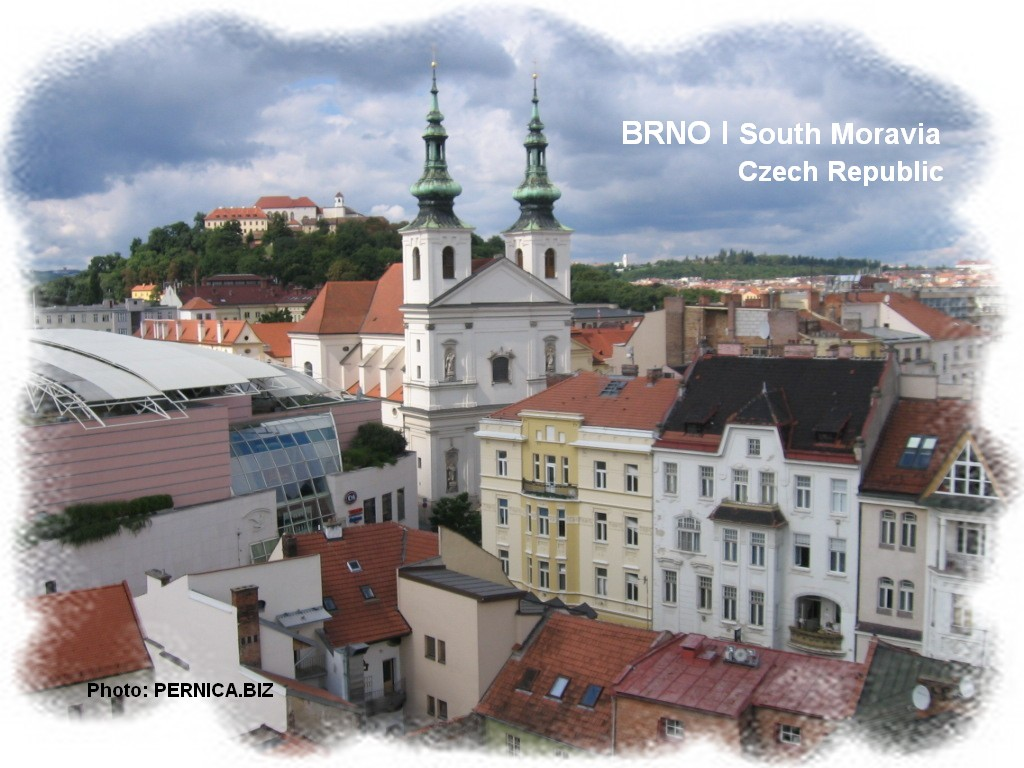 Panorama města Brna pohledem z ochozu Staré radnice. Foto: PERNICA.BIZ