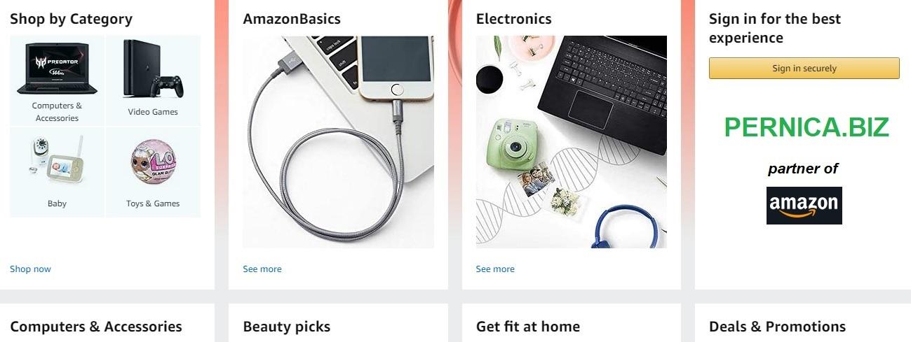 PERNICA.BIZ – partner of Amazon.com