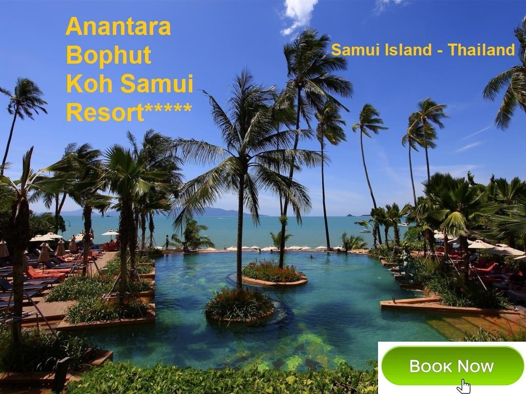 Asia/Thailand/Samui Island: Anantara Bophut Koh Samui Resort*****