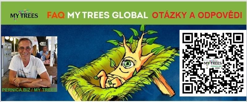 MY TREES GLOBAL / FAQ / OTÁZKY A ODPOVĚDI