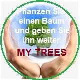 My Trees Globales Projekt - Pflanzen Sie einen Baum und geben Sie ihn weiter / Registrierung und Login