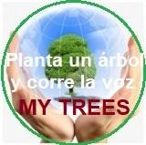 My Trees proyecto – Planta un árbol y corre la voz / Registro e inicio de sesión