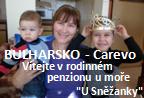 Bulharsko - Carevo: Penzion U Sněžanky / Bułgaria - Carewo: Pensjonat rodzinny U Sneżanki / Болгария - Царево: Семейный пансионат Снежанка